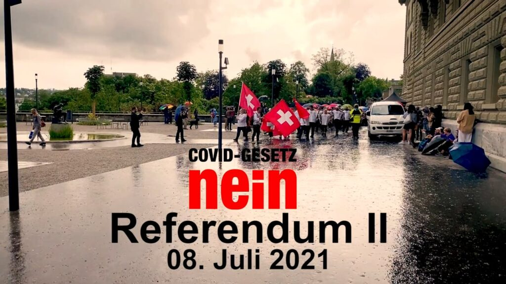 Covid Gesetz NEIN – Referendum II