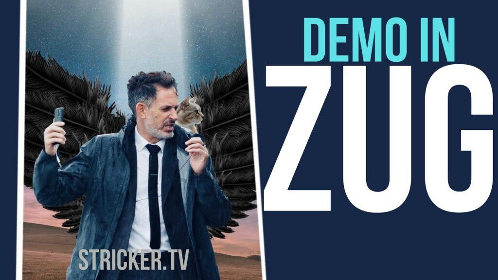 Demo in Zug – Live Stream