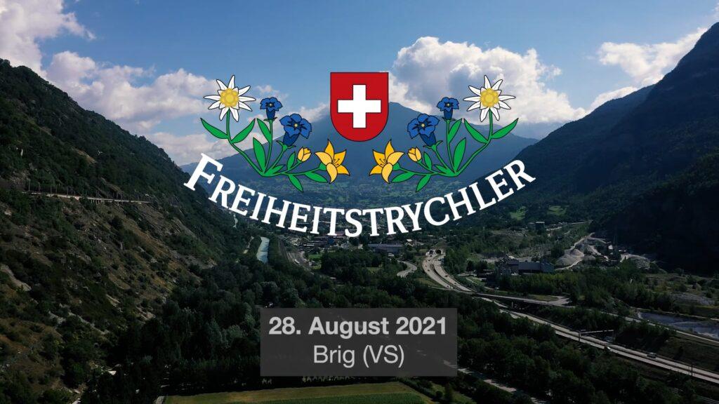 210828 Freiheitstrychler in Brig