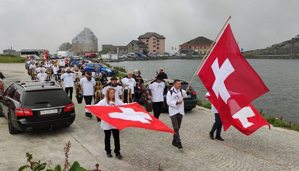 Freiheitstrychler auf dem Gotthardpass & Andermatt UR